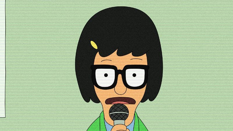 "Illustration for article titled Bob's Burgers: ""Broadcast Wagstaff School News"""