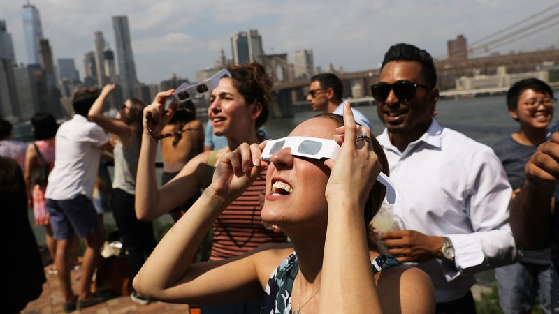 What should you do with your eclipse glasses?