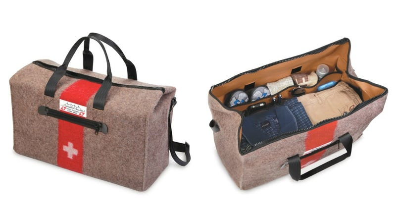 Illustration for article titled A Swiss-Inspired Duffel Bag Fit for a Military General