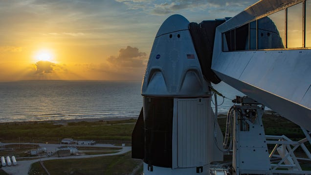 Watch Live: SpaceX s Second Try to Launch NASA Astronauts to the Space Station [Updated]