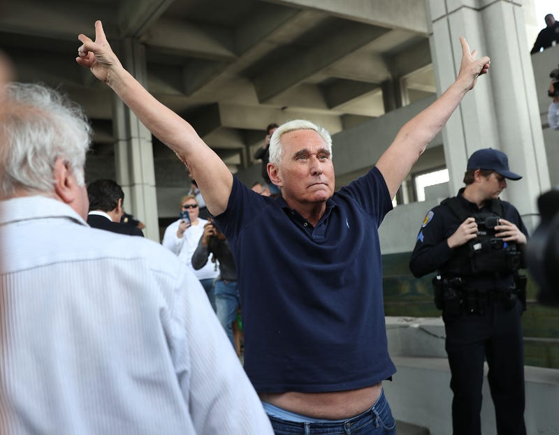 Illustration for article titled Roger Stone Is a Stunt Queen Who Is Loving the Attention From His Arrest