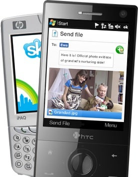 Illustration for article titled Skype 3.0 for Windows Mobile Shares Files, Sends Texts, Skypes