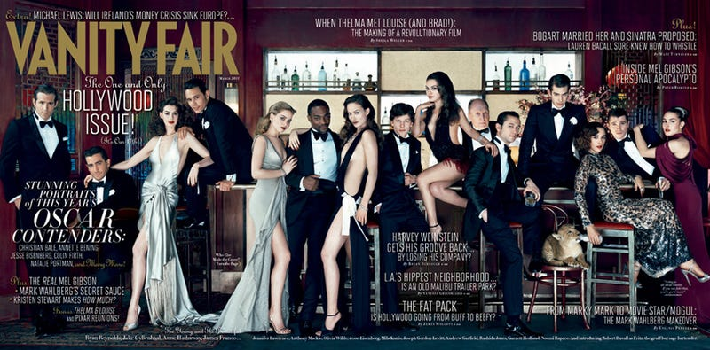 Illustration for article titled Vanity Fair's Hollywood Issue Shoves People Of Color To The Side (As Usual)