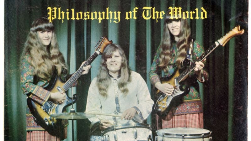 Illustration for article titled The Shaggs' Philosophy Of The World is getting the reissue treatment