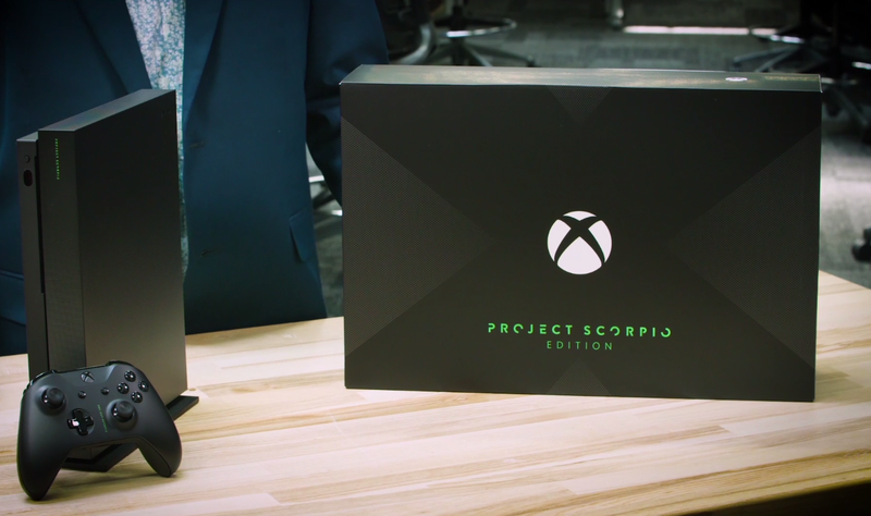 Illustration for article titled Microsoft Announces 'Project Scorpio' Edition Xbox One X