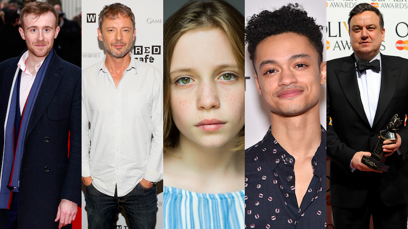 John Heffernan, John Simm, Dixie Egerickx, Marquis Rodriguez, and Richard McCabe.