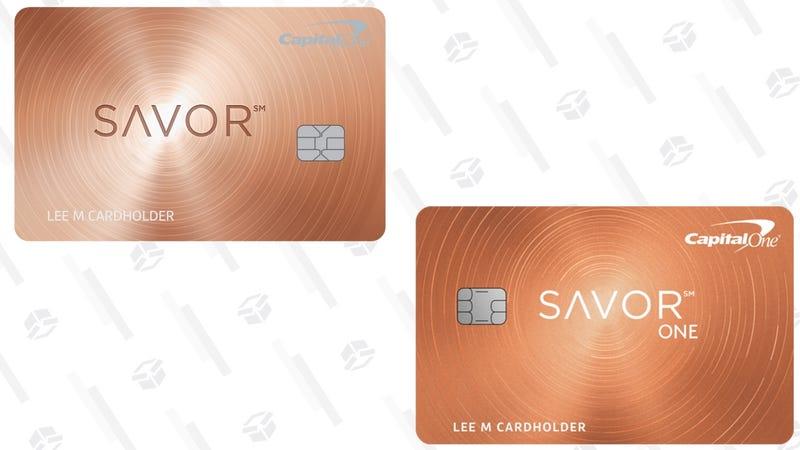 Capital One Savor CardCapital One SavorOne Card