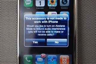 iPhone Works With iPod Music Docks But Not Video Docks