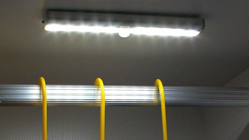 3 Pack OxyLED Stick Anywhere Lights | $20 | Amazon | Promo Code TBONOM9A  Photo: Amazon