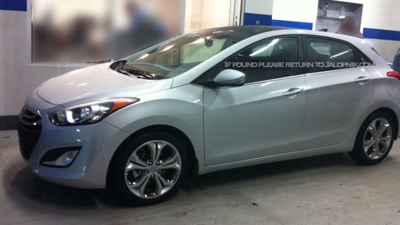 Small Hatch Fans Take Note: An Anonymous Tipster Has Forwarded Photos Of  Hyundaiu0027s Upcoming Elantra Hatchback To Jalopnik. The Compact Five Door Was  Caught ...