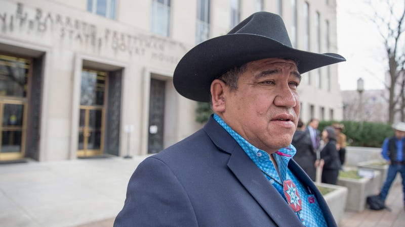 The brave, the fearless, the inspiring Harold Frazier aka chairman of the Cheyenne River Sioux Tribe in South Dakota