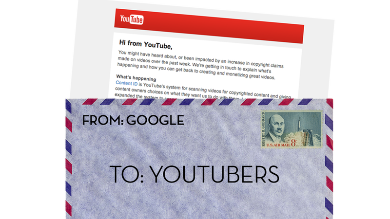 Illustration for article titled Here's YouTube's Reply To Angry YouTubers About This Content ID Mess