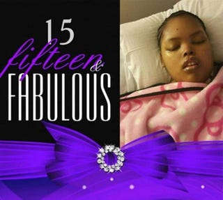 A photo of Jahi taken a few days before her 15th birthday in October 2015Keep Jahi McMath on Life Support via Facebook