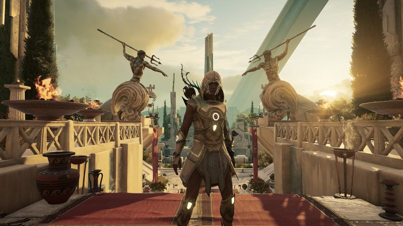 Illustration for article titled Assassin's Creed Odyssey's Final Paid Expansion Is Terrific If You Like The Weird Stuff