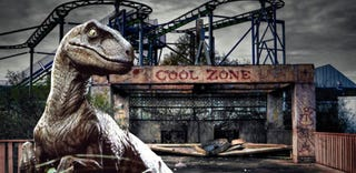 Illustration for article titled Jurassic Park 4 is being shot in this gorgeous abandoned amusement park