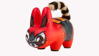 Illustration for article titled There's a new Rocket Raccoon Toy out and it's absolutely terrifying