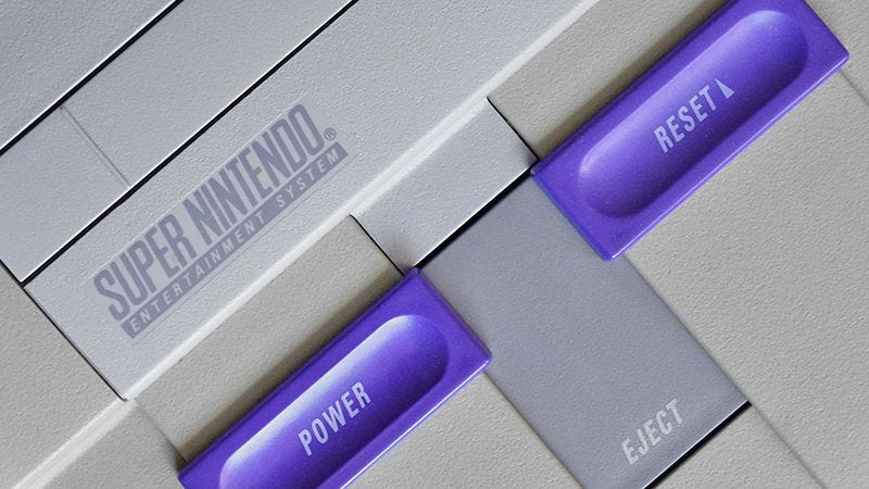 Illustration for article titled Nintendo Might Be Preparing a Mini SNES For the Holiday Season