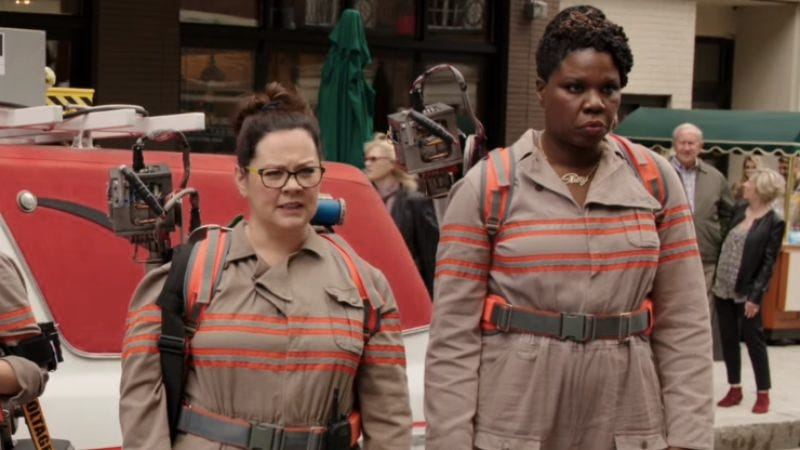 Illustration for article titled Leslie Jones' Ghostbusters role was originally written for Melissa McCarthy
