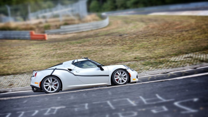 Illustration for article titled Alfa Romeo 4C Completes 'The Green Hell' Of The Nürburgring In Just 8'04''