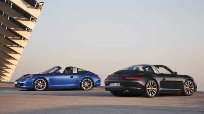 Illustration for article titled 2014 Porsche 911 Targa: The Hoop Is Back