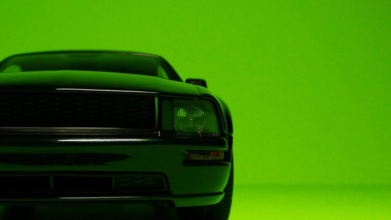 Illustration for article titled Good-Looking Bullitt Mustang, by AUTOart