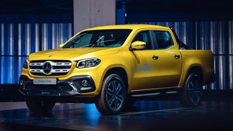 The 2018 mercedes benz x class luxury truck is finally real for Mercedes benz trucks