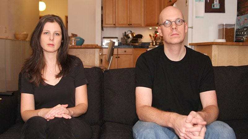 Beth and Dave Harrigan say they see no reason why their marriage can't be as painless and civil as possible.