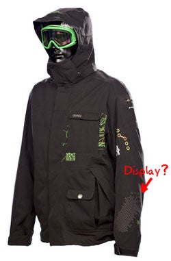 Illustration for article titled O'Neill NavJacket Shows the Way with GPS, Integrated Audio/Video