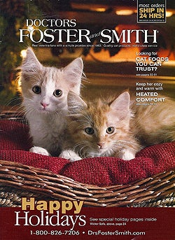 Doctors foster smith the crazy cat lady catalog for Dr fosters and smith fish