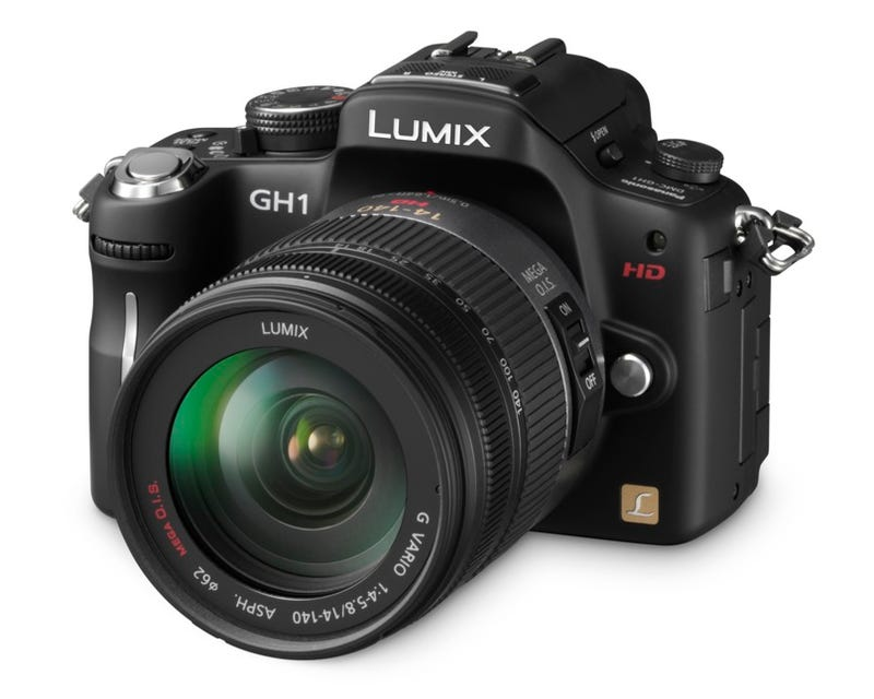 Illustration for article titled Panasonic Lumix DMC-GH1 Micro Four Thirds Sequel Shoots Full 1080p Video