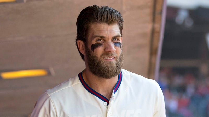 Illustration for article titled Bryce Harper Informs Phillies GM Of 2-Week Vacation In August He'd Planned Before Getting Job
