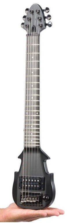 tiny electric guitar has normal sized frets. Black Bedroom Furniture Sets. Home Design Ideas