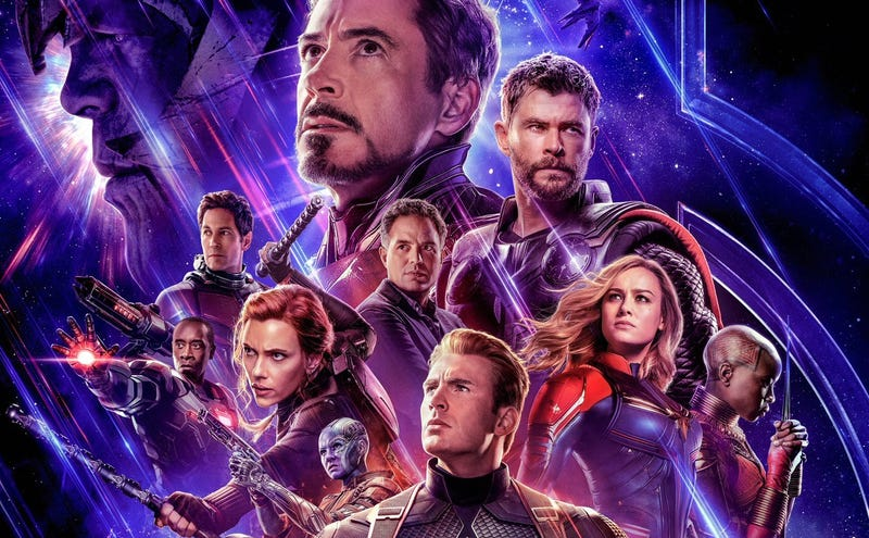 Illustration for article titled Marvel olvidó incluir el nombre de una estrella de Avengers: Endgame en el póster de la película