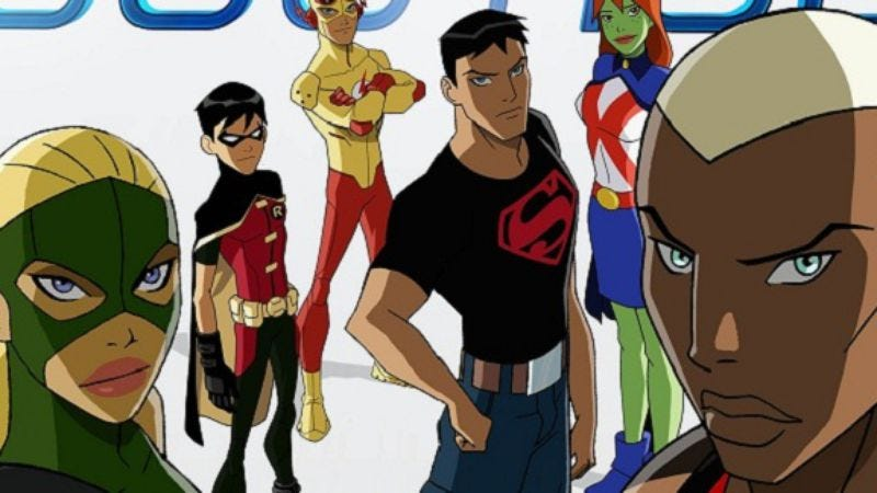 """Illustration for article titled Young Justice - """"Independence Day"""""""