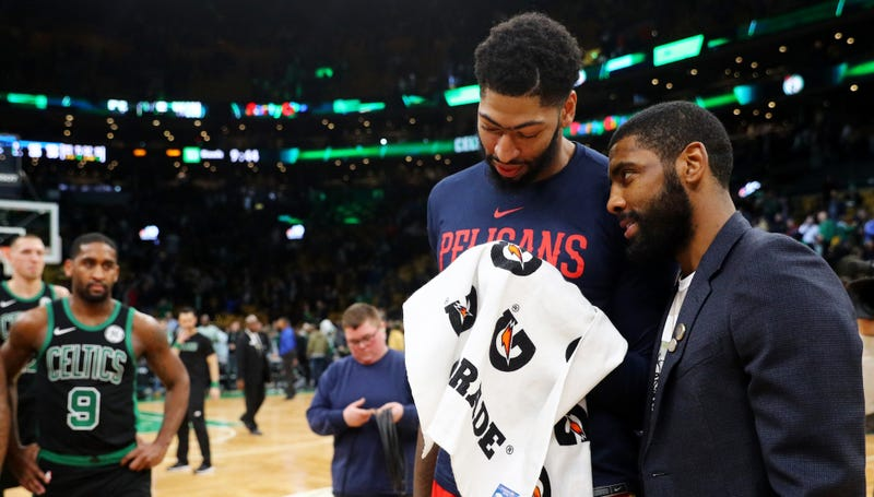 """Illustration for article titled Anthony Davis's Dad: """"I Would Never Want My Son To Play For Boston"""""""