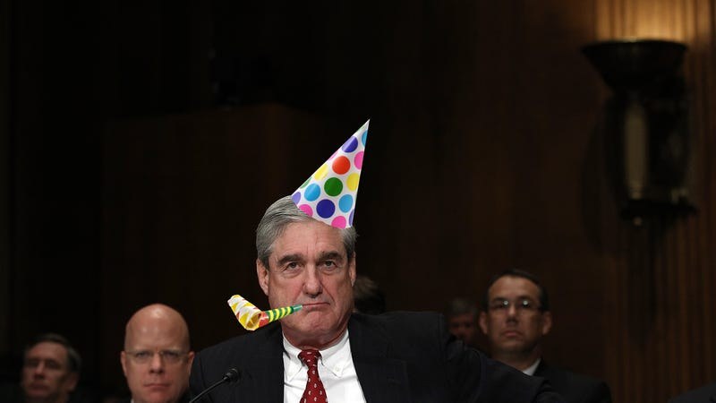 Illustration for article titled Try Robert Mueller's Party Hack at Your Next Gathering
