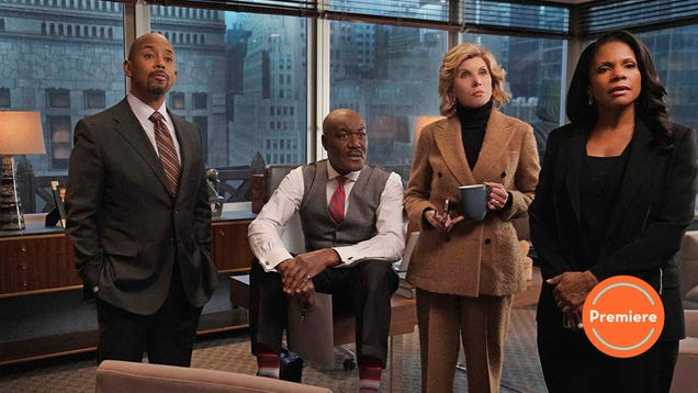 The Good Fight returns with a punchy third season premiere