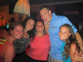 Illustration for article titled Gronk To Host Women's Football Clinic At Harvard. There Will Be Booze.