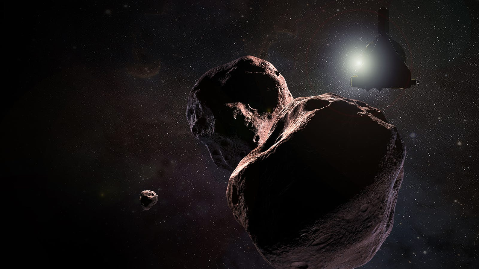 Hell Yes, NASA's New Horizons Will Buzz Right Past Ultima Thule on New Year's Day