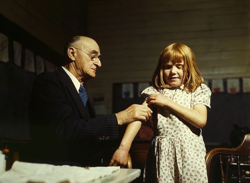 Illustration for article titled This Is What It's Like To Be An Unvaccinated Child
