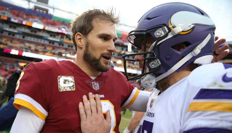 Illustration for article titled Report: Kirk Cousins Plans To Go Cheerfully Shout At Vikings Fans For Three Years