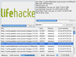 Illustration for article titled View, search, and organize your cache with CacheViewer