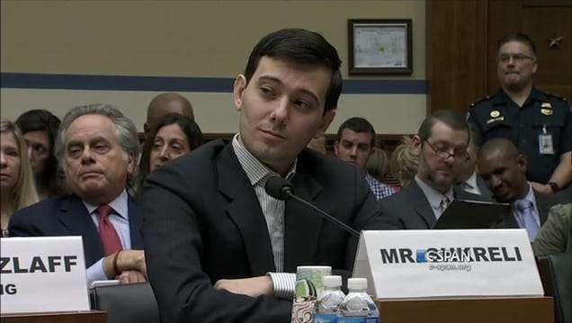 Martin Shkreli Invokes His Fifth Amendment Right Not to Discuss His Wu-Tang Album With Congress