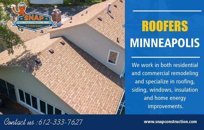 Illustration for article titled Roofers Minneapolis | Call us 6123337627 | snapconstruction.com