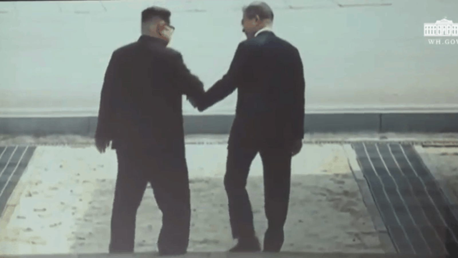 President Trump Made aFake Movie Trailer for Kim Jong Un with the Two Leaders as Heroes