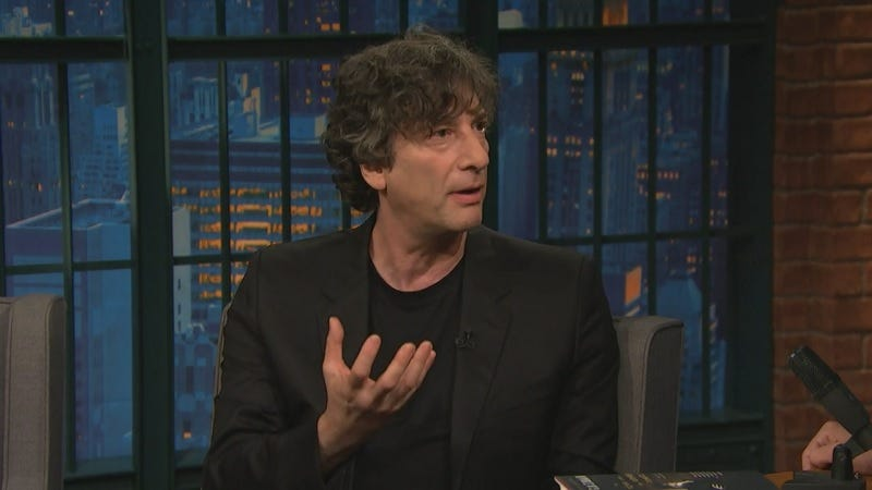 "Illustration for article titled If You Want to Be a Writer, Neil Gaiman Says You Should ""Get Bored"""