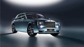 Illustration for article titled Is That a Power Cord Coming Out Of Your Rolls Royce?