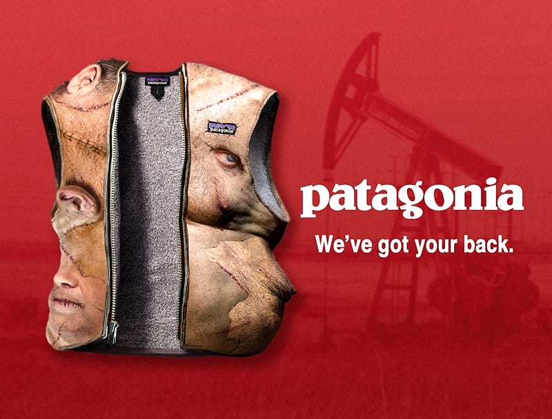 Illustration for article titled Radicalized Patagonia Releases New Fleece Made Of 100% Recycled Oil Company CEOs