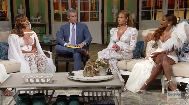 The Real Housewives of Potomac Cast Wore Lovely Reunion Gowns Worthy of a Red Wedding