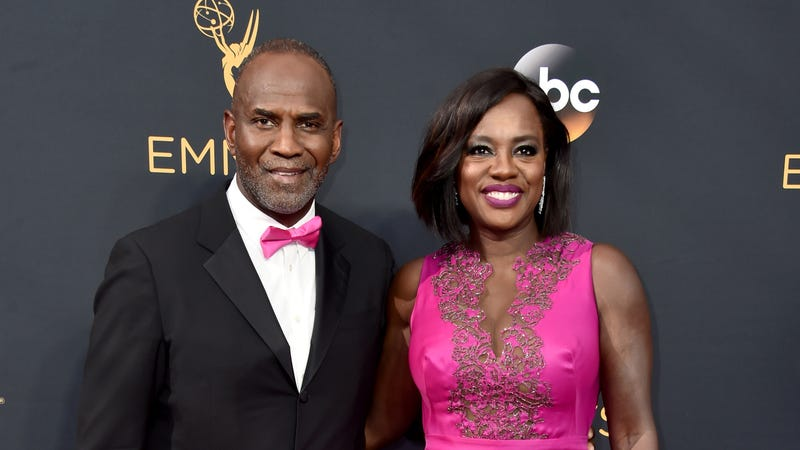 Actors Julius Tennon (L) and Viola Davis attend the 68th Annual Primetime Emmy Awards on September 18, 2016 in Los Angeles, California.